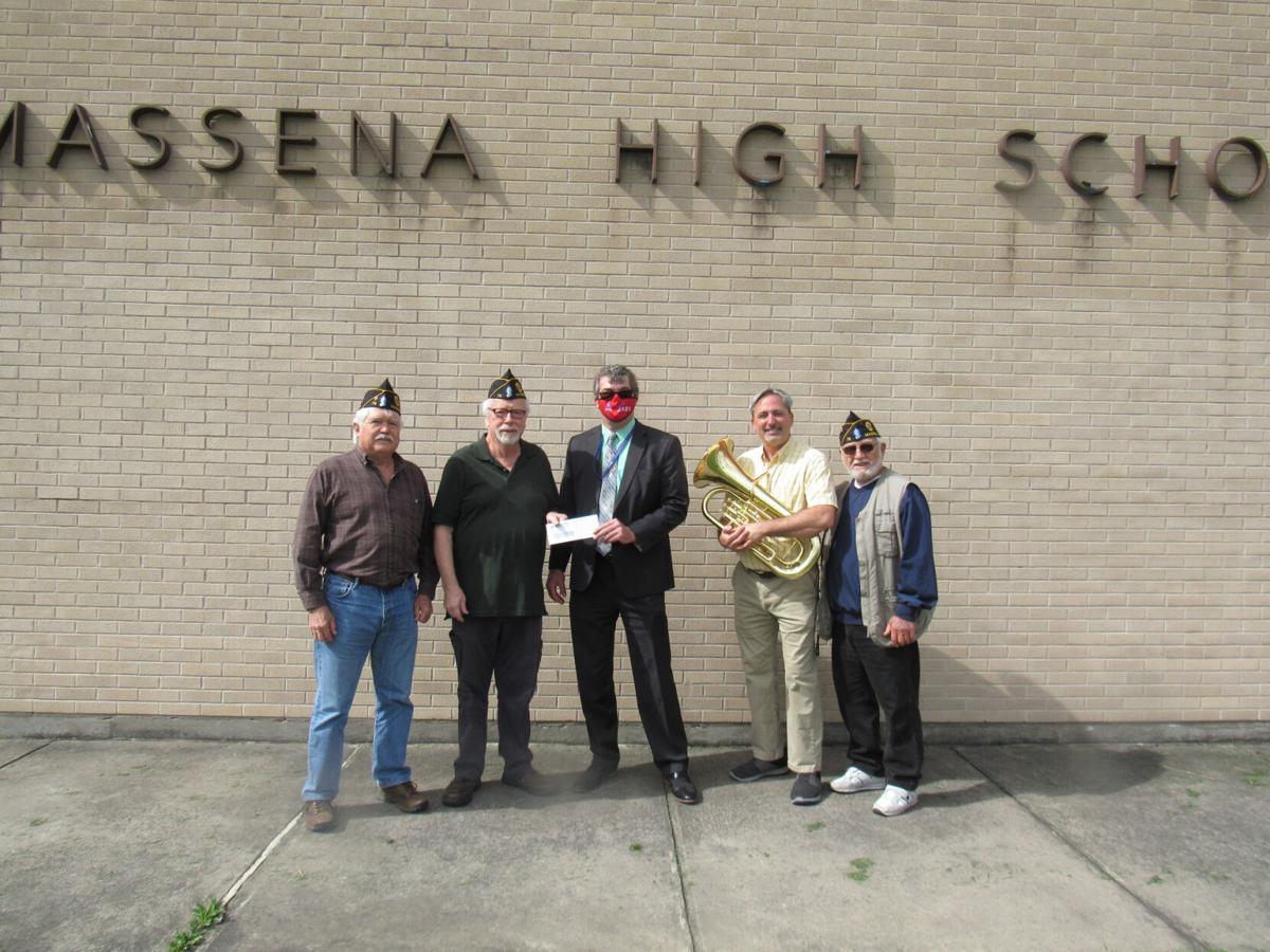 Donations help Massena school music department