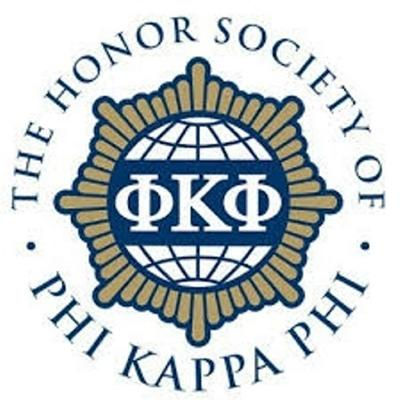 Catherine Lynch inducted into The Honor Society of Phi Kappa Phi