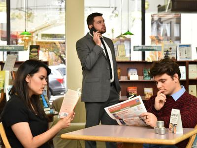Student honors production to present absurdist comedy 'Dead Man's Cell Phone'