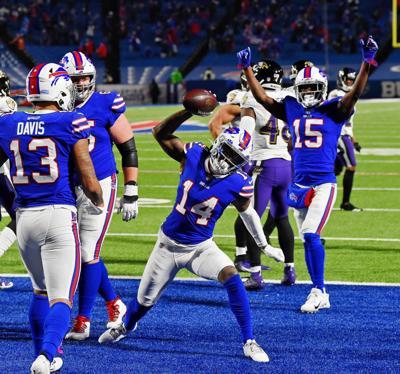 Bills' family express joy separately