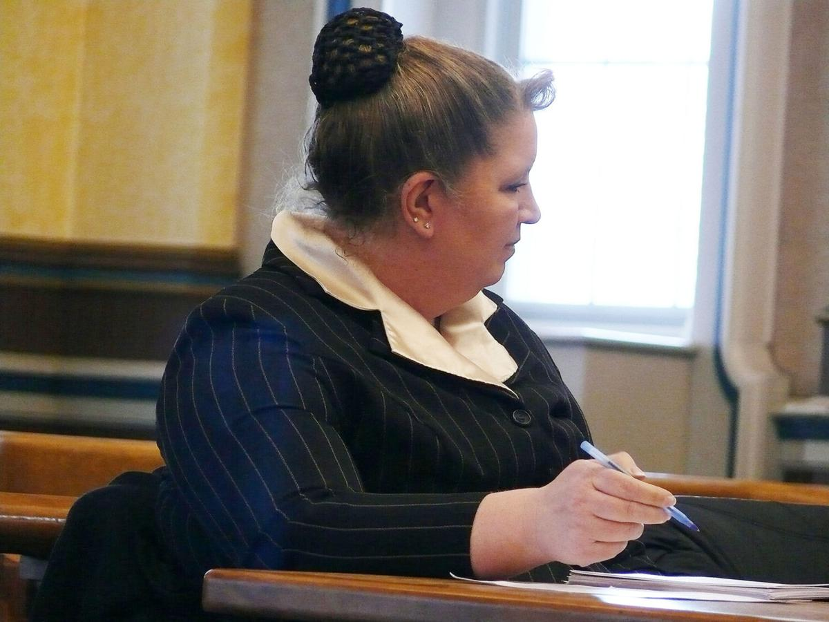 Christine Soderlund waits on Boylston to provide her court-ordered files