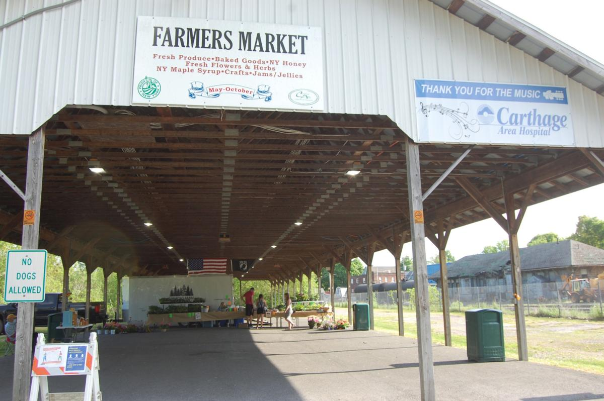Carthage market opens with two vendors