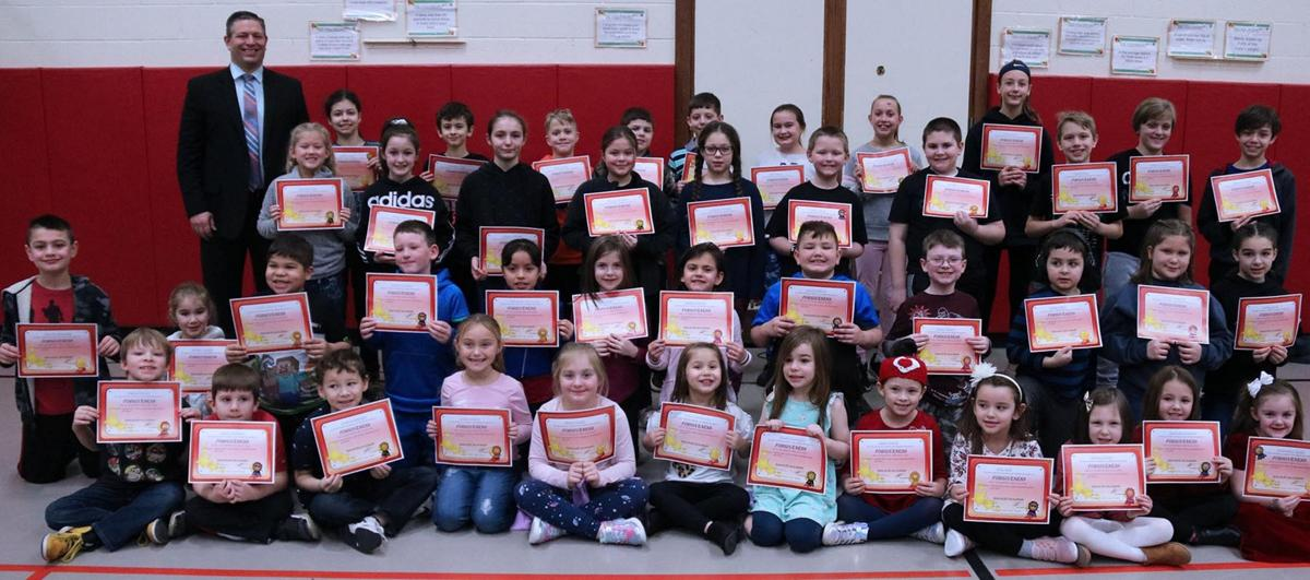 Lanigan students earn awards for January efforts
