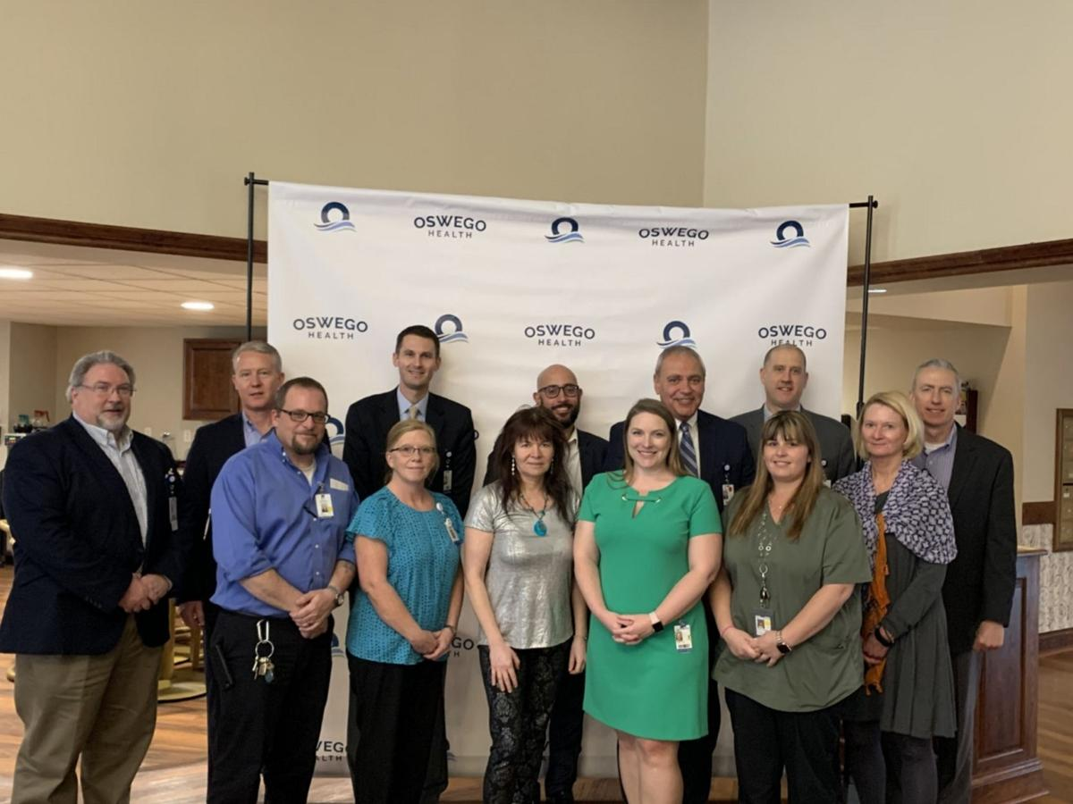 Oswego Health presents six employees with Engagement Champion Award