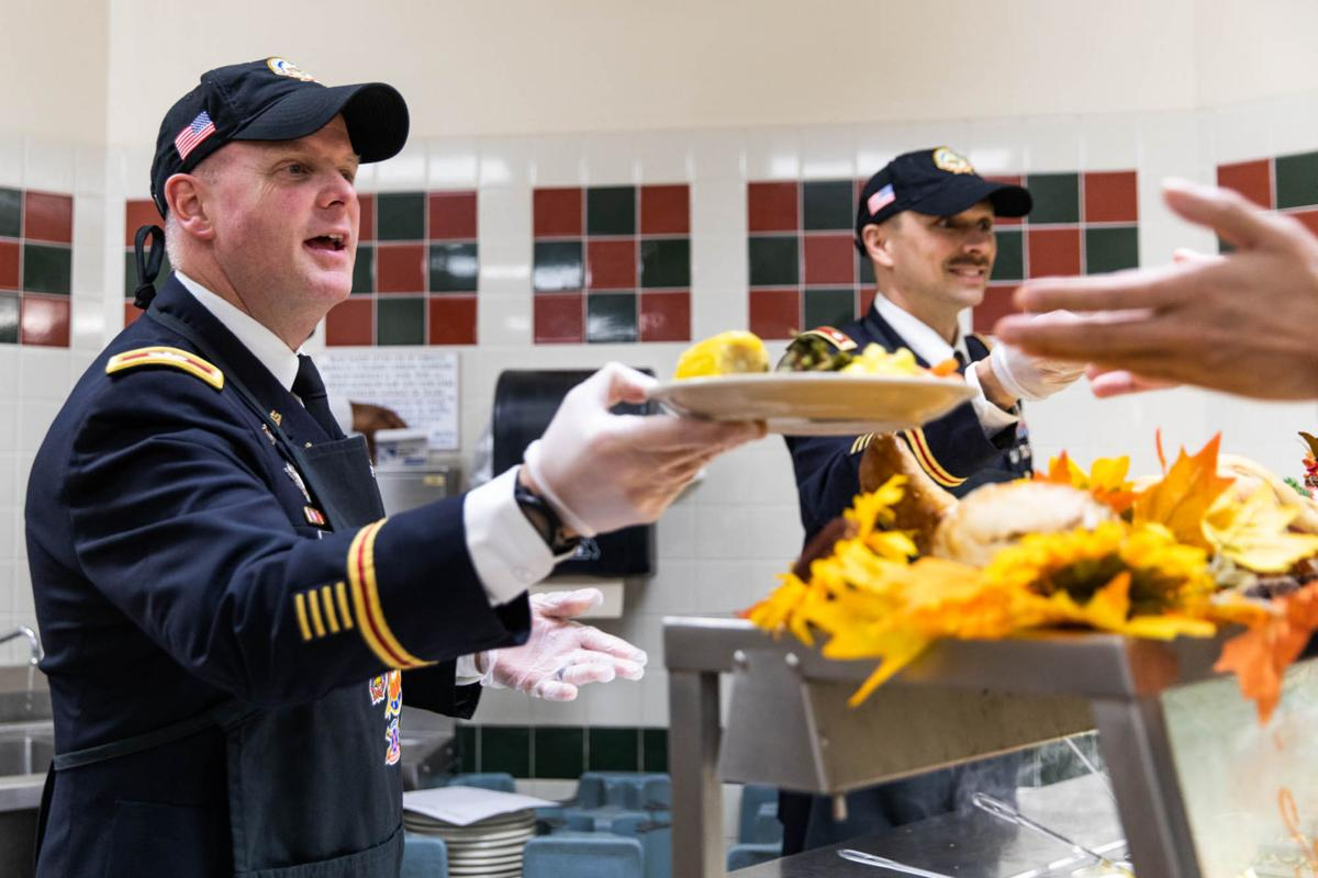 Drum serves annual Thanksgiving meal