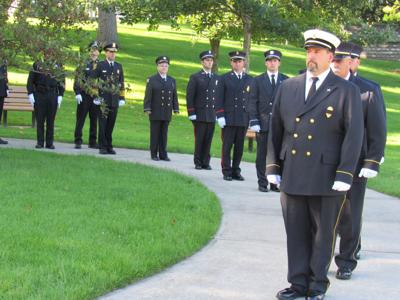 Massena firefighters will honor first responders