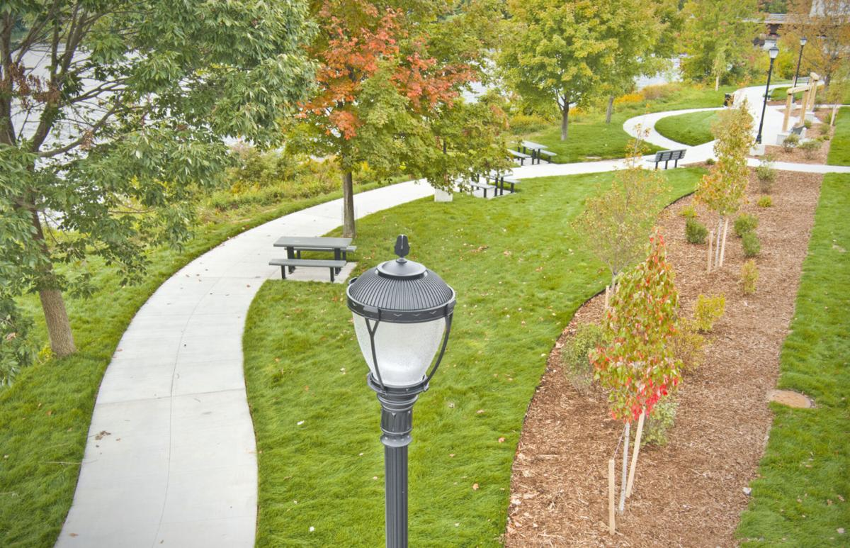 Garner Park gets finishing touches
