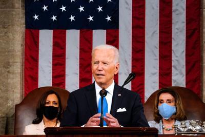Biden, Harris hit road to sell agenda