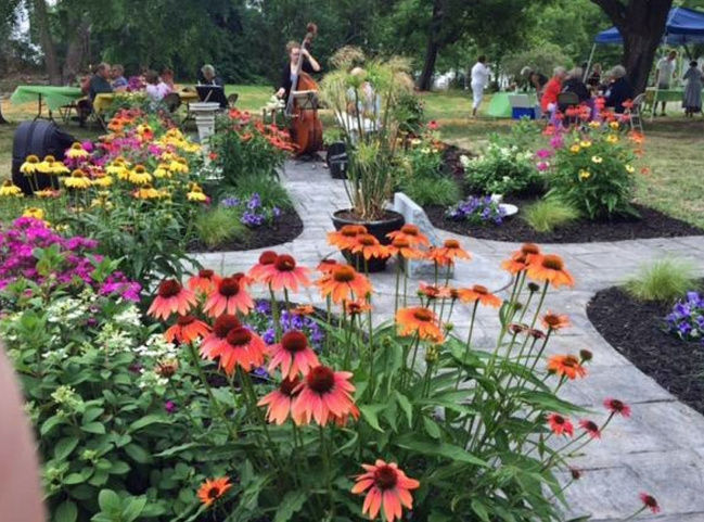 Lyme Garden Tour also aims to cultivate appreciation for arts