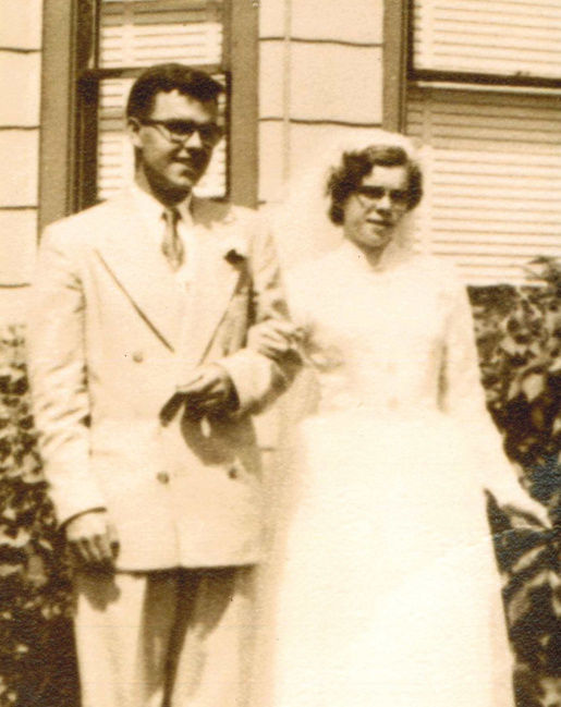 Mr. and Mrs. Joseph Morris, 65 years