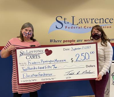 Credit union gives to Remington
