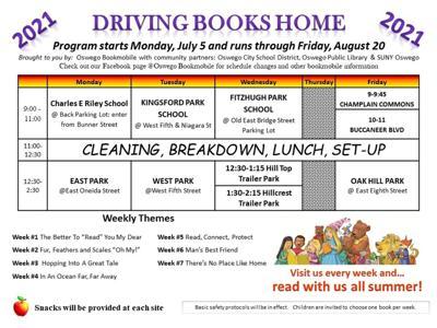 Oswego Bookmobile season starts July 5