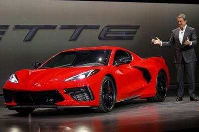 The Corvette gets a radical makeover
