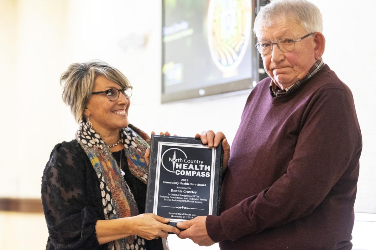 Three honored as Community Health Heroes