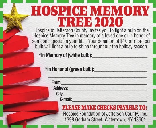 Hospice Memory Tree