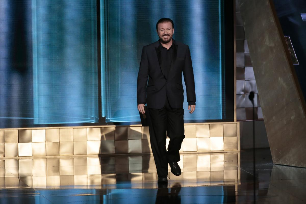 Gervais to host Globes fifth time