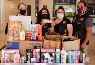 Port Ontario Gear Rippers donate hygiene items to Catholic Charities of Oswego County
