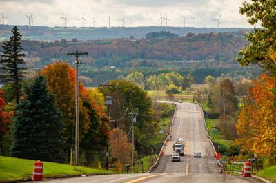 Leaves start to turn in Adirondack region