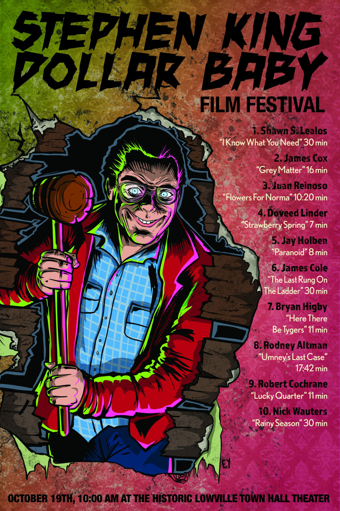 Stephen King film fest set in Lowville