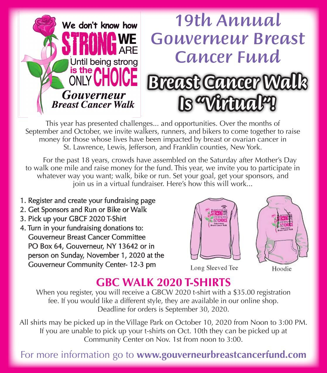 Gouverneur Breast Cancer Fund