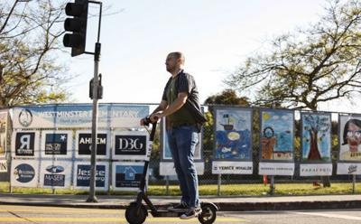 Electric scooters may soon be riding into Canton