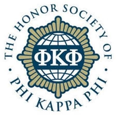 Madison Sabourin inducted into Phi Kappa Phi Honor Society