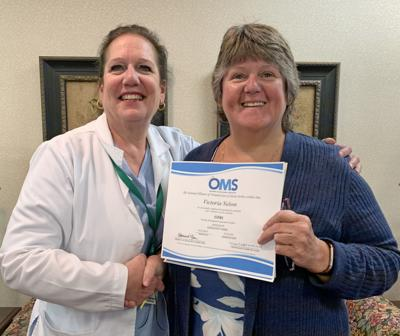 St. Luke Health Services' Victoria Nelson, RN earns Ostomy Management Specialist wound care certification