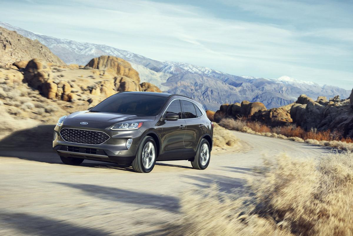 2020 Ford Escape, a vehicle that represents the heart of America