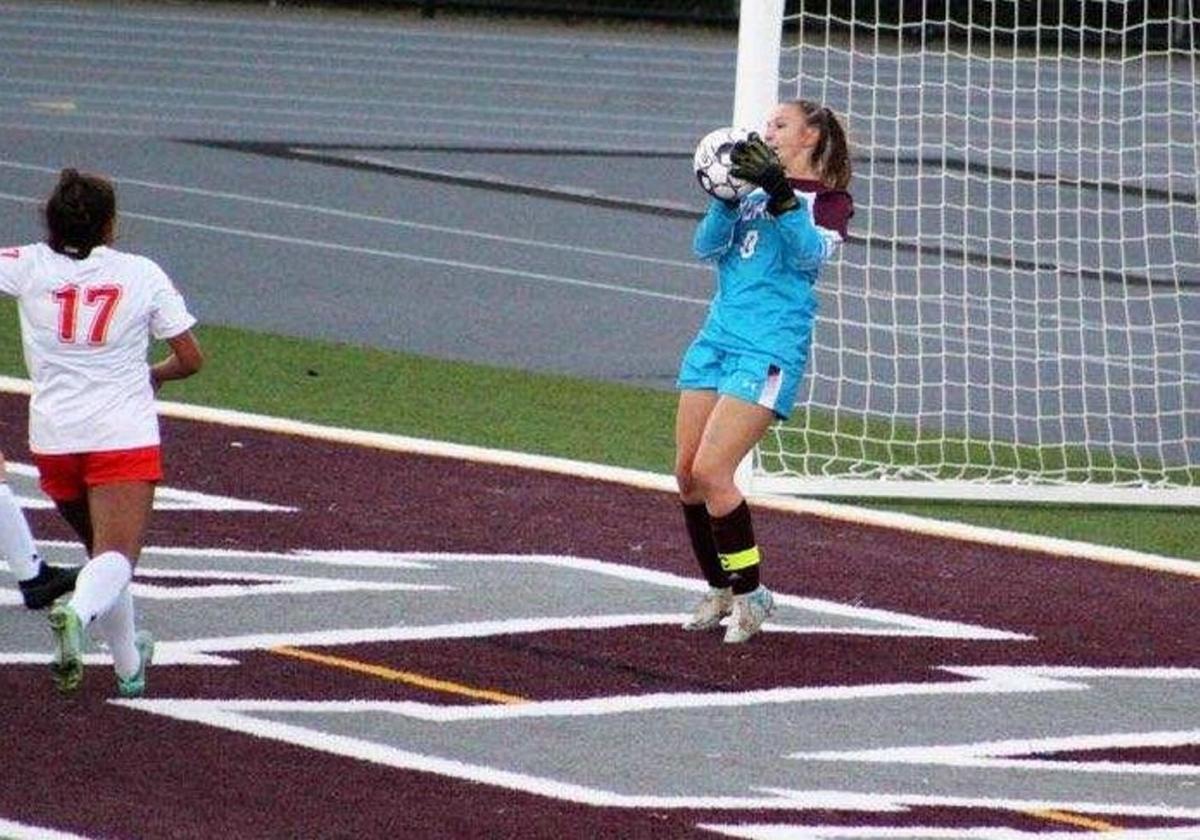 Central Square junior goalie Samantha Haley achieves 500th career save