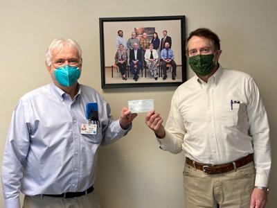 Cancer fund donates $5,000 to Gouverneur hospital