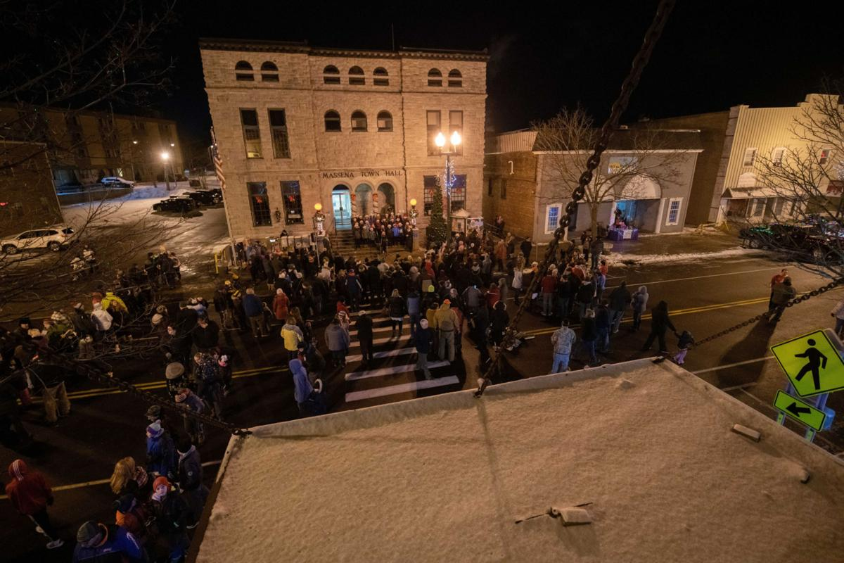 Christmas celebration lights up Massena