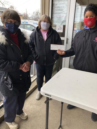 Church donates to Salvation Army
