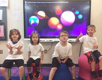 CiTi students explore space, reading in summer school