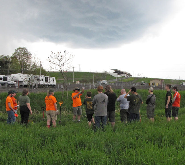 Tree Stewards and Scouts team up to protect Wine Creek Habitat