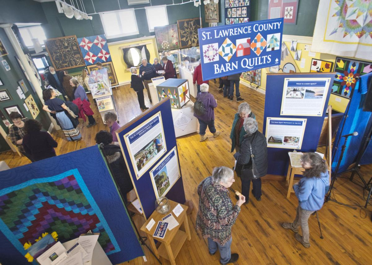 Barn quilts of all types featured in TAUNY exhibit