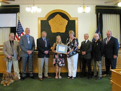 Austin celebrates 37 years of service with Oswego County