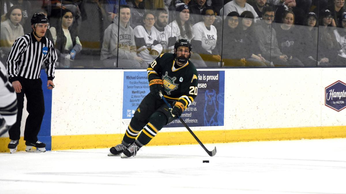 Oswego men's hockey, basketball teams moving forward