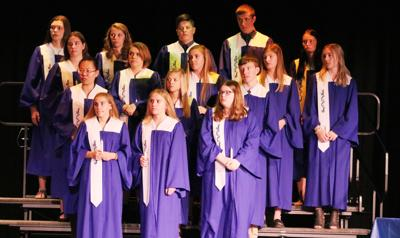 Sixteen students inducted into Sandy Creek National Honor Society