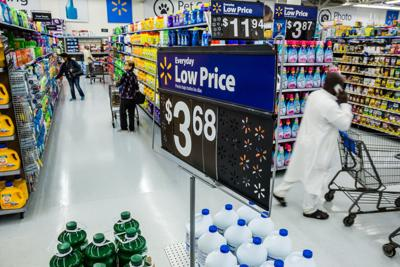 Inflation stings Walmart prices
