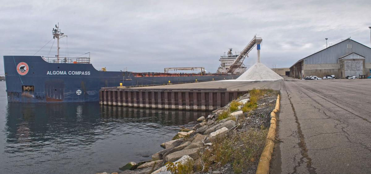 Road salt delivery is final ship of season