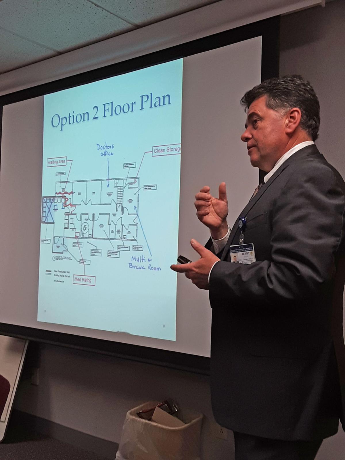 Health clinic renovation plan progresses