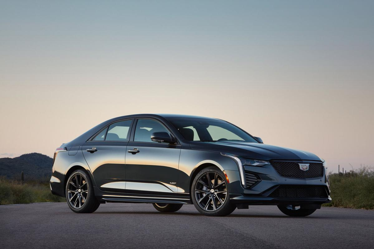 World-class engineering makes the 2020 Cadillac CT4-V grin-inducing fun