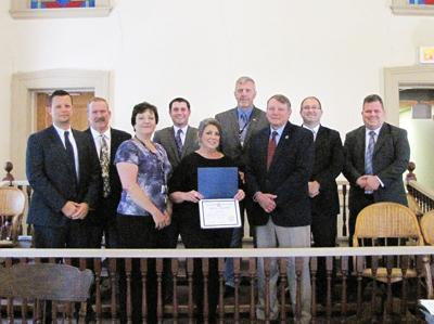 County recognizes Susan Naugle