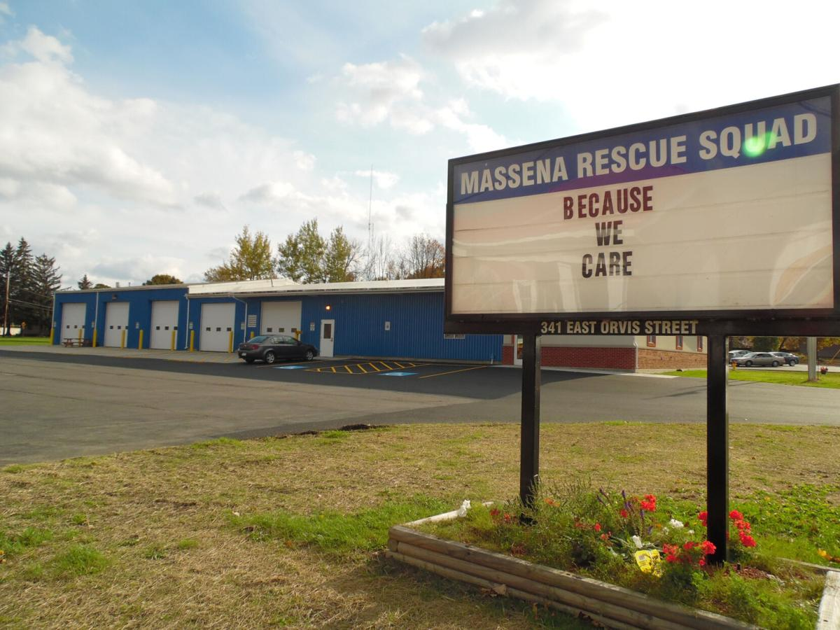 Rescue squad in Massena changes sides