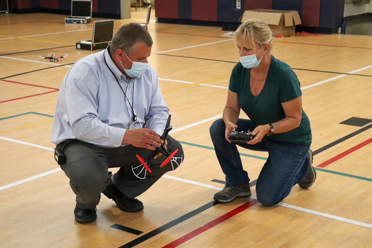 CiTi staff members participate in drone training