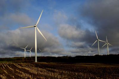 Wind farm meeting format raises questions
