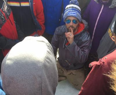 Teacher has introduced more than1,000 kids to ice fishing