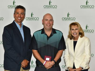 Two SUNY Oswego faculty honored for outstanding research accomplishments