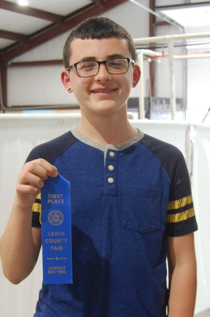 Pupils show skills at Lewis County Fair spelling bee