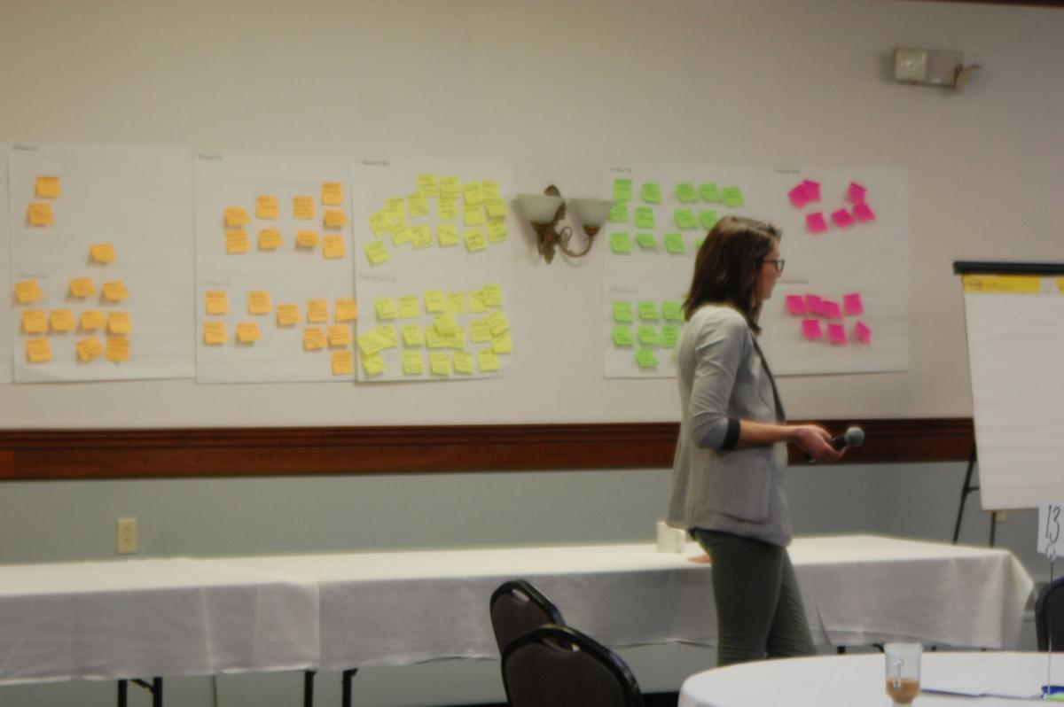 Lewis brainstorming aims to find common vision for future
